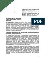 AMICUS CURAE - CODIGO DE JUSTICIA MILITAR