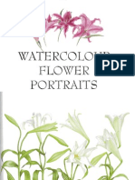 53503844 Water Colour Flower Portraits Billy Show Ell