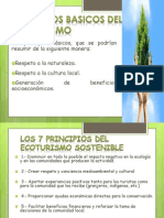 Principios Basicos Del Ecoturismo