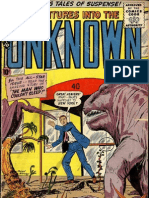 Adventures Into the Unknown-90th Issue Vintage Comic