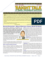Trinity Tax & Financial Solutions Inc. - Newsletter - March 2012
