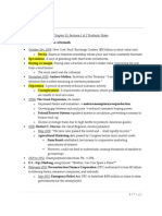 Chapter 13, Sections 1 & 2 Textbook Notes
