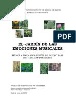 el jardín de las emociones musicales- 2012