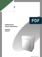 samsung dv665jw dryer manual clothes dryer duct flow rh scribd com Owner's Manual Samsung Dryer Samsung Dryer DV350AEW XAA Manual