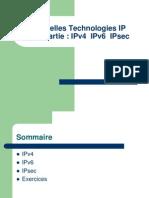 Nouvelles Technologies IP IPv4 IPv6 IPsec
