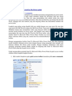 Cara Menyisipkan File Word Ke Ms Power Point