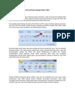 Menyimpan Presentasi PowerPoint Sebagai Flash Video
