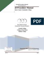 Payroll Procedure Manual-as of 09-14-11