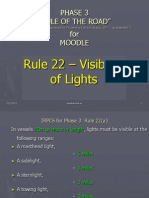 Rule 22 - Visibility of Lights by Jnw
