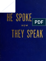 Walter Ladell Yates--He Spoke, Now They Speak--A Collection of Speeches and Writings of and on the Life and Works of J.C. Price (1952)