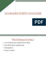 HYDROGEN PURITY ANALYZER
