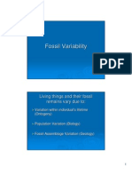 Pal Chapter 2 Fossil Variability