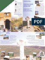 Orheiul Vechi. Complex muzeal sub cerul liber, Pliant, 2003
