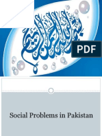 Social Problems in Pakistan