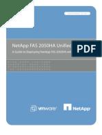 VMware View on NetApp Unified Storage