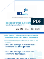 3. Dosage Forms and Strength