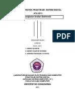 makalah proyek praktikum sitem digital