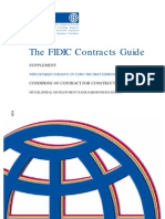 The FIDIC Contracts Guide