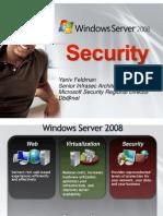 Windows Server 2008 Security