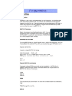Porgramming Batch Files