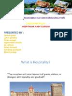Presentation of Hospitality 2