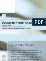 Data Center Health Checkup