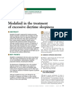 CCJM Modafinil in the Treatment of EDS