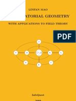 Combinatorial Geometry With Applications to Field Theory by L Mao