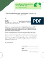 Cetp Membership Form
