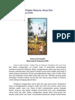 Apreseasi Karya Pelukis Malaysia Aliran Post Impressionisme