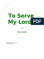 To Serve My Lord