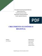 Crecimiento Economico Regional