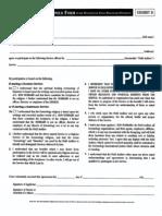 IHELP. Enrollment & Disclaimer Form, & Trademarks (1995)