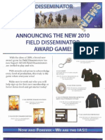 IAS Field Disseminator Info With Prizes (2010)