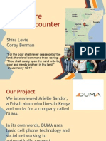 Africa Night PowerPoint of DUMA