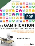 Escenarios de aprendizaje con gamificación.
