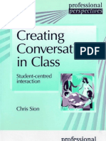 Creating conversation in class