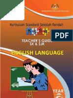 Teacher's Guide English Year 3 SK & SJK