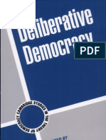 Deliberative Democracy Cambridge Studies in the Theory of Democracy