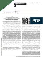 Censuraydiscursoperiodistico.blogspot.com.Ar Censura a Los Libros