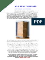 Building a Basic Cupboard