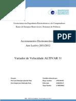 Estudo do Altivar31