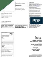 Scheda Iscrizione e Volantino Corso Labo Carta