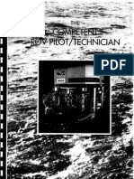The Competent ROV Pilot-Technician