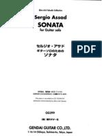 Assad Sergio - Sonata (Complete)