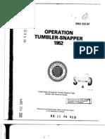 OPERATION TUMBLER-SNAPPER
