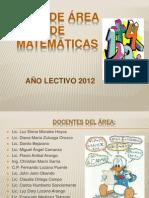 plan de matematicas