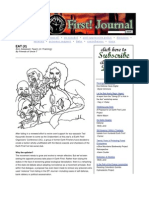 Earth First assassination newsletter