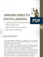 Juicio Ordinario Laboral