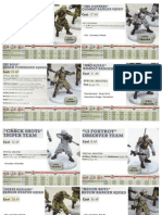 Dust Warfare Unit Cards